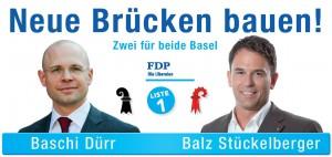 Neue Brücken bauen: Zwei für beide Basel!