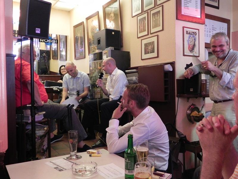 Baschi Dürr im Gespräch mit Radio X am 21. August 2012